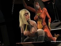 Marvelous Girls - Hot SUPER Lesbian action part2