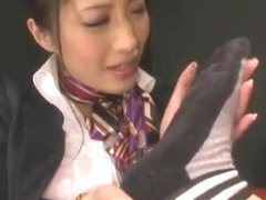 Best Japanese whore Shizuka Kanno in Exotic Fetish, Threesomes JAV scene