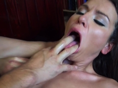 Nataly Gold - Face Fucking In The Library