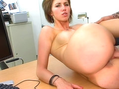 MILF casting turns into hard sex