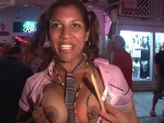 Fabulous pornstar in amazing outdoor, striptease porn movie