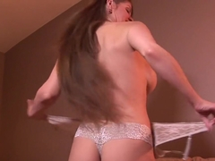 Crazy pornstar June Summers in amazing brazilian, cumshots xxx scene