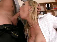 Passionate sex with dirty milf Tanya Tate