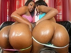 Vanessa & Dolce in Double Bubble Booty Bouncing - PornPros Video