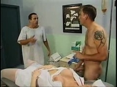 Attentive tranny doctor takes care
