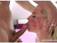 Sexy German MILFs going crazy