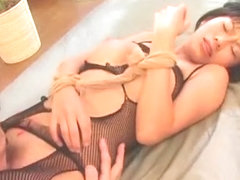 Hottest Japanese chick Sasa Handa in Fabulous Fetish JAV scene