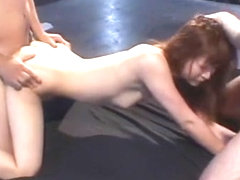 Hottest Japanese model Leila Aisaki in Best Small Tits, Threesomes JAV movie