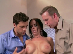 Sweet threesome with Brandy and two dudes