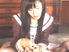 Exotic Japanese whore Koi Koino in Amazing Foot Job JAV video