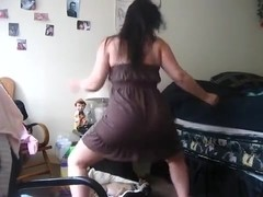 Exotic arse popping livecam taut clothing video