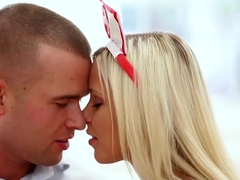 Daringsex hot blonde nurse passionately fucking xxx