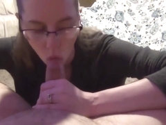 I Can Easily Deep Throat My Boyfriend's Massive Cock