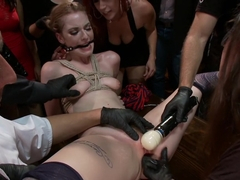 Bella Rossi has a brand new plaything! 2 hot red-heads face off!
