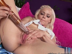 Hottest pornstars Elsa Jean, Ray Lynn in Exotic Masturbation, College sex video
