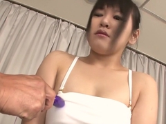 Horny Japanese chick Koyuki Ono in Best JAV uncensored Dildos/Toys scene