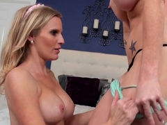 Fabulous pornstars Licious Gia, Brianna Ray in Amazing MILF, Cunnilingus xxx movie