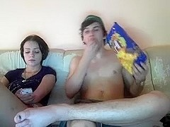 Screwing my girl on a webcam show