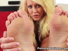 Alura Jenson in Footsie Fun 2