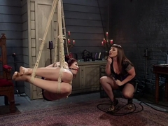 Crazy anal, fetish porn clip with fabulous pornstars Ingrid Mouth and Mistress Kara from Whippedass