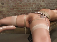 Best fisting, fetish adult clip with horny pornstar Delilah Strong from Fuckingmachines