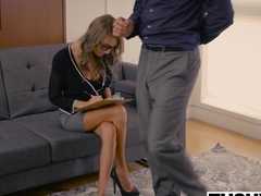 TUSHY Personal Assistant Janice Griffith Loves Anal