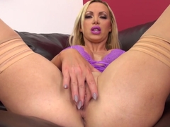 Crazy pornstar Nikki Benz in Amazing Big Ass, Masturbation xxx video