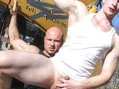 Men At Anal Work - OutInPublic