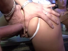 Hottest pornstars Tarra White, Sharon Pink and Rihanna Samuel in horny group sex, brazilian adult .