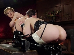Exotic gaping, lesbian adult clip with fabulous pornstars Lyra Law and Juliette March from Everyth.
