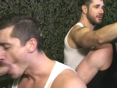English muscled fudge packers group bj