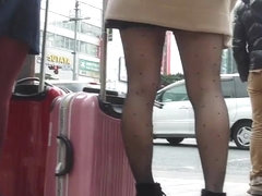 candid asian pantyhose 11