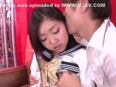Crazy Japanese whore Akina Nakahara in Amazing JAV uncensored Teen movie