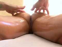 Rachel Starr Gets a Rub Down