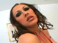 Superb Mandy Bright group-fucked