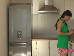 Morning sex in the kitchen with Zuzinka