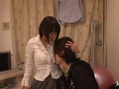 Big juggs Reiko Nakamori 69 action and hard fucking