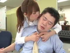 Ass eating jerking off cock Akiho Yoshizawa