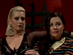 Fabulous fetish, lesbian sex movie with crazy pornstars Sovereign Syre and Cherry Torn from Whippe.