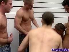 Tommy Defendi loving the cock at an orgy