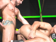 Jimmy Durano & Landon Mycles in The Trainer, Scene #02 - HotHouse