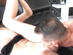 Fat daughter squirt and facial