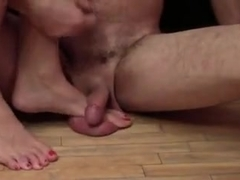 CBT rough cock and ball trample