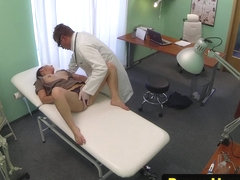 euro patient fingered and pussyfucked