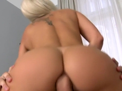 Euro babe paying the rent with sex. Blanche Bradburry