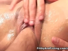 Britney Angel & Kissy in Britney - The Queen Of Double Pussy Fisting - FilthyAndFisting