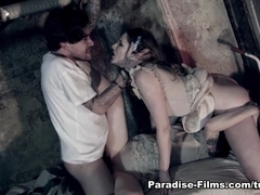 Samantha Bentley & Luke Hotrod & Misha Cross in Freakishly Amazing Threesome - Paradise-Films