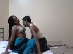 Kinky desi amateurs enjoy oral sex on the bed