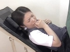 Asian slut fucked hard by her doctor in medical sex video