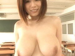 Best Japanese model Aika Suzuki in Incredible big natural tits, big tits JAV movie